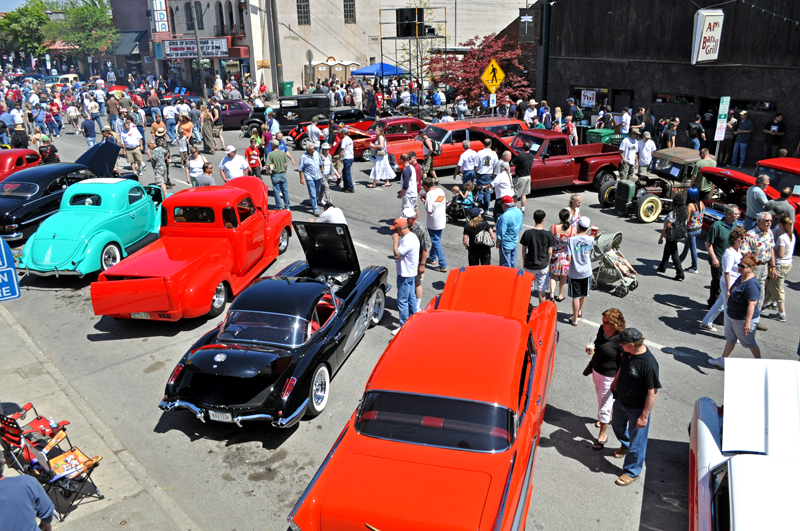 Sandpoint Idaho Lost In The 50s Classic Car Show Sandpoint Online